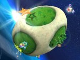 Super Mario Galaxy, Wind Garden covered - Picture